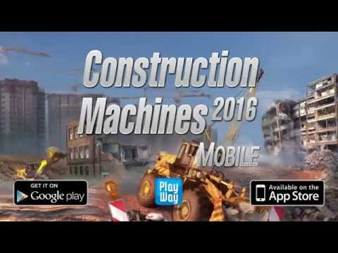Constuction Machines 2016 Mobile
