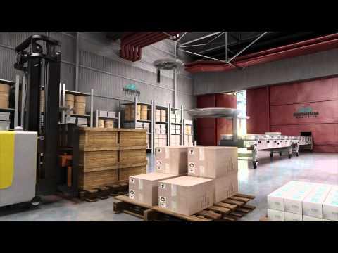 Infinium Warehouse Drones - Concept Video