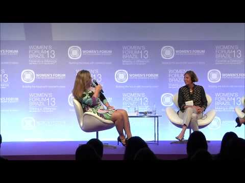 Women's Forum Brazil 2013   Plenary session   Raising the game on our social and environmental inves