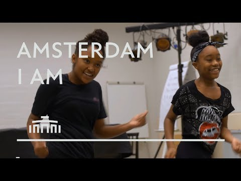 Take a look in the rehearsals of Amsterdam I Am