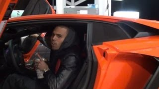 Chris Brown Is More Concerned About His Car Than Rihanna On Valentine