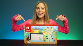 Animal Crossing Nintendo Switch Unboxing!