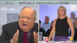 Cazzola: 'Mi auguro un colpo di stato dei Carabinieri se vince Grillo'