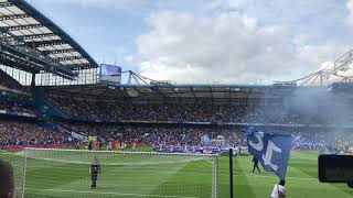 Cardiff City fans at Chelsea
