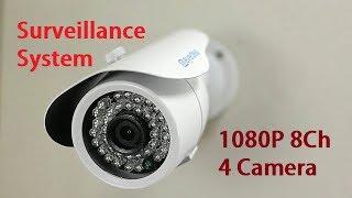 Eyedea 1080P 8CH 4 Camera Surveillance System Review