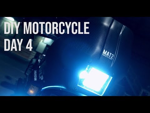 Making a Carbon Fiber Motorcycle Rally Fairing - DAY 4