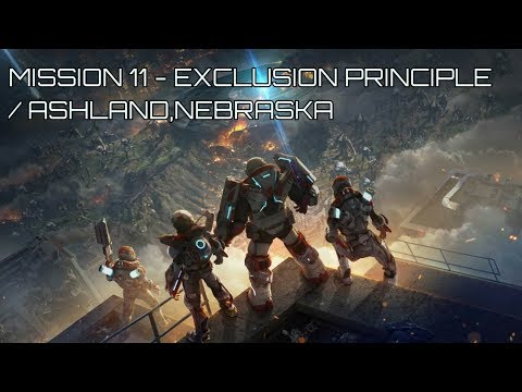 ALIENATION Co-Op Gameplay Mission 11 - Exclusion Principle / Ashland,Nebraska