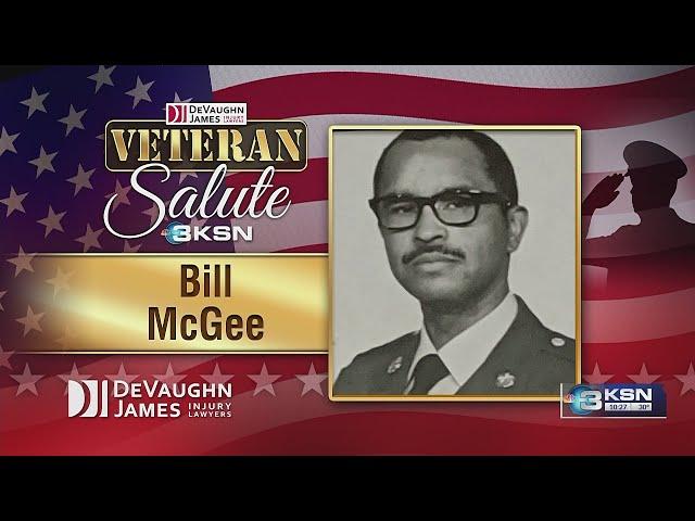 Veteran Salute: Bill McGee