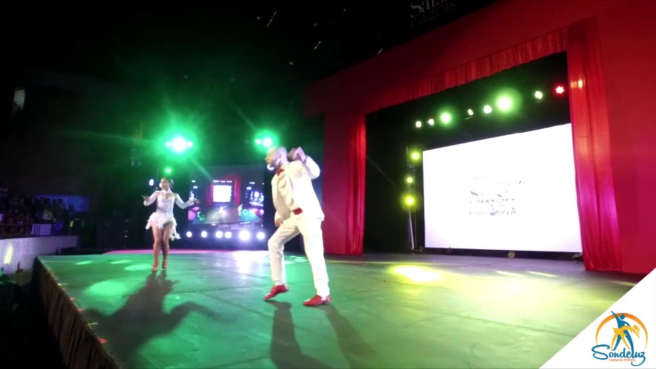 Valentina Ciro y Diego Gallego, Eliminatorias Mundial de Salsa