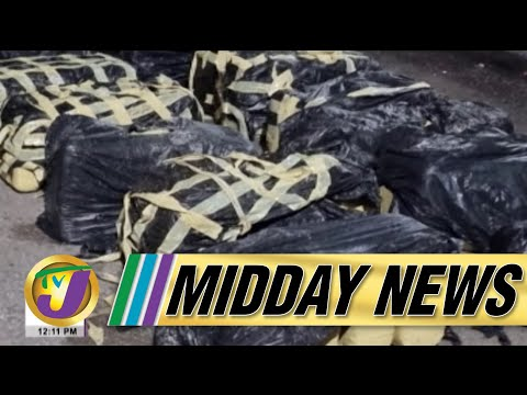 Major Drug Bust in Portland Jamaica | Jamaican Hospital in RED Zone | TVJ Midday News - Oct 8 2021