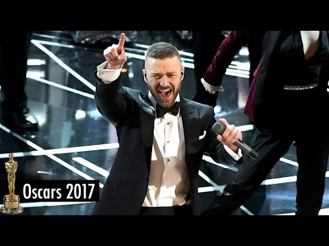 Justin Timberlake Performs 'Can't Stop the Feeling' at 2017 Oscars