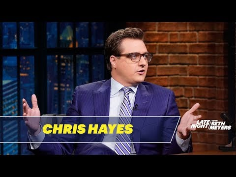 Chris Hayes Talks About Trump's Surreal Fox & Friends Interview