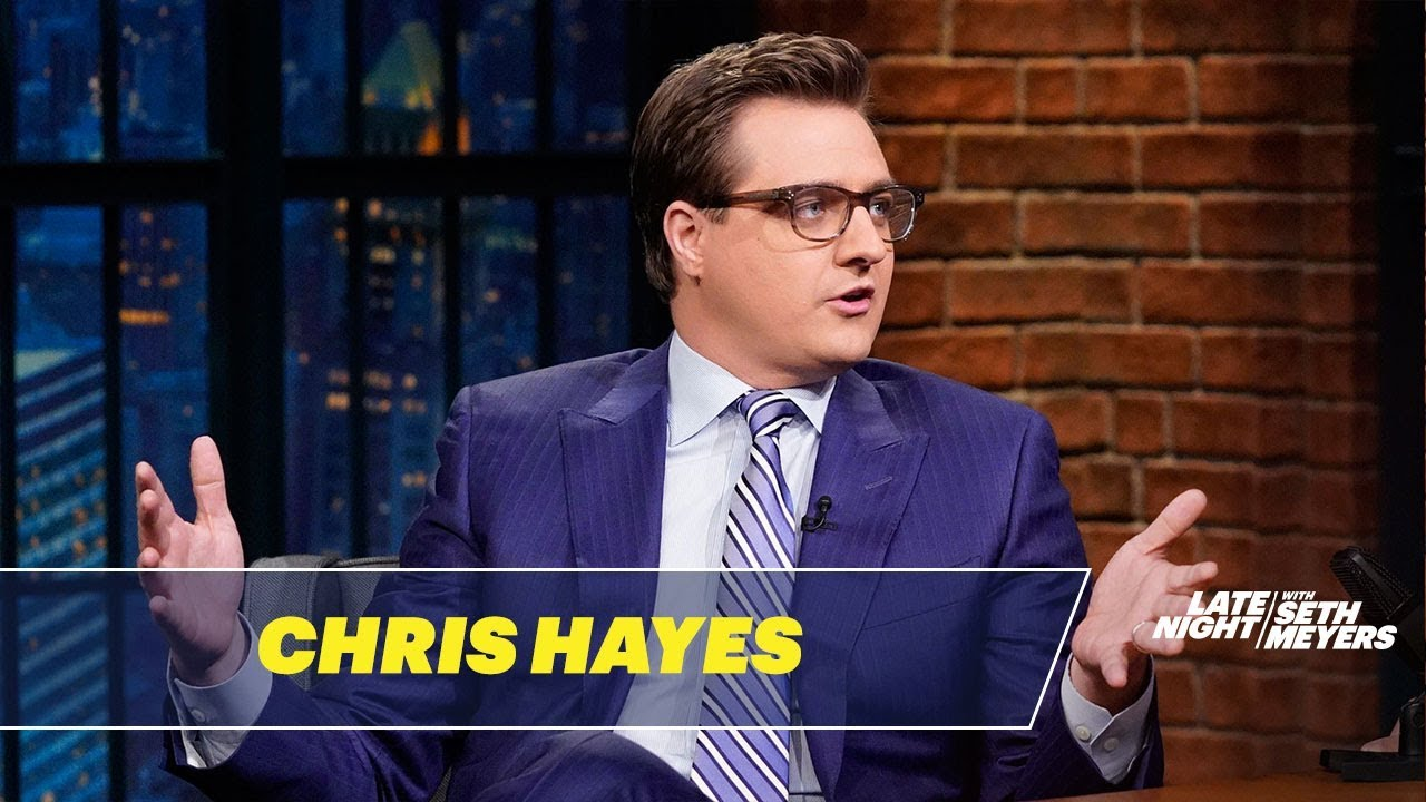 Chris Hayes Talks About Trump's Surreal Fox & Friends ...