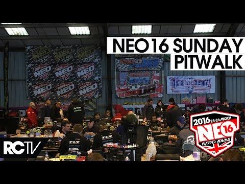Neo 16 Sunday Post Qualifying Pit Walk