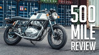 2019 Royal Enfield Continental GT 650 // 500 Mile Review