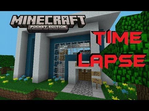 Minecraft PE Timelapse ft BaconsMC [ 0.7.1 Realm ]
