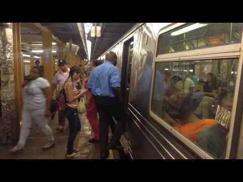 IND Subway: Downtown & Uptown R46, R68/A & R160 (A) (B) (C) (D) Trains @ 145th Street