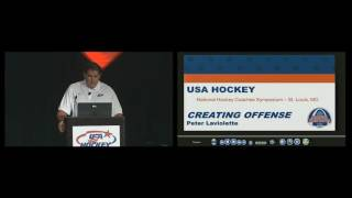 PETER LAVIOLETTE - Hockey - Creating an Offensive Identity Presentation