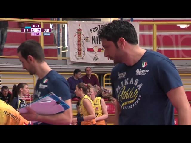#videoemozioni. Club Italia Crai Femminile - Imoco Volley Conegliano