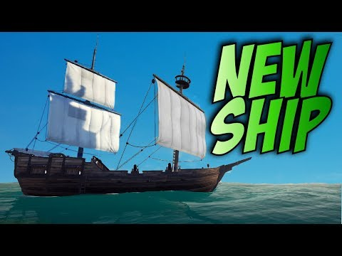 CURSED SAILS // NEW SHIP CLASSES // SEA OF THIEVES - The Brigantine and the Rowboat.