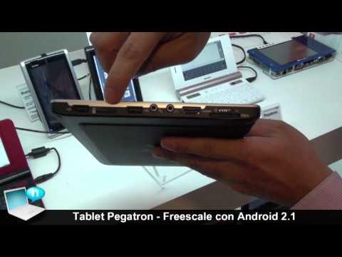 Tablet Pegatron con processori Freescale e sistema operativo android 2.1