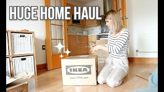 HUGE HOME HAUL Ikea & Amazon | ORGANIZE WITH ME | New Toys, Furniture, Storage, Flat Organization