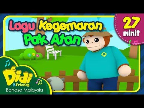 Lagu Kanak-Kanak   Didi & Friends   Kompilasi Lagu Kegemaran Pak Atan   27 Minit