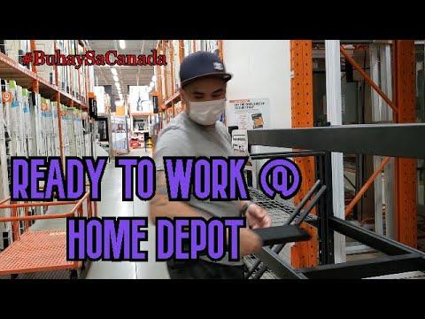 READY TO WORK @ HOME DEPOT (CALGARY, CANADA)