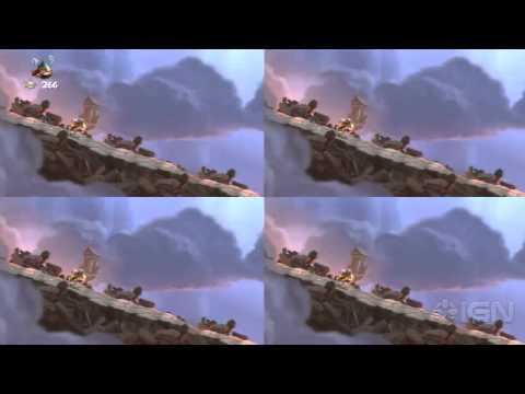 Rayman Legends Walkthrough: Living Dead Party - Grannies World Tour (8-Bit)