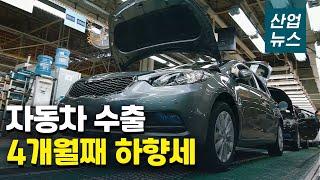 7월 자동차 수출·생산 하락‥판매는 5개월 연속 증가_…