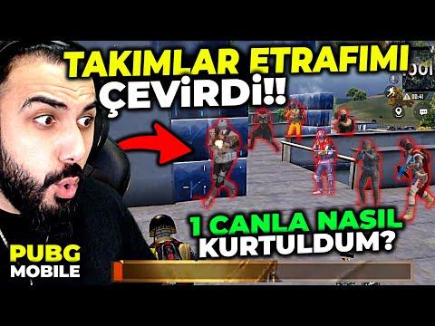 1 CANLA İMKANSIZ OYUN!! TAKIMLAR TOKİDE ETRAFIMI ÇEVİRDİ!! | PUBG MOBILE