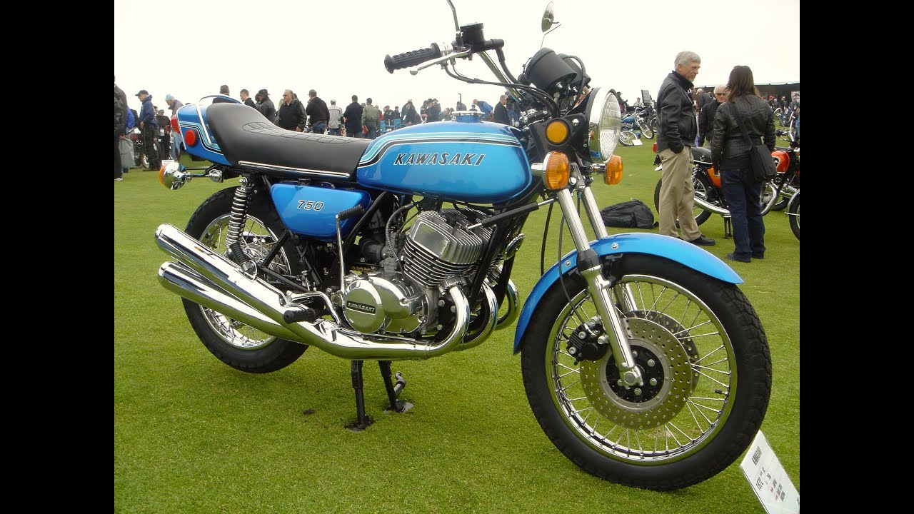 Kawasaki H2 Mach IV History 1972-1975 - YouTube