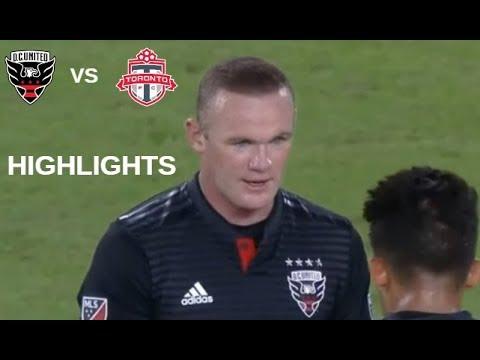 Wayne Rooney vs Toronto FC Highlights | D.C. United vs Toronto FC 17/10/2018