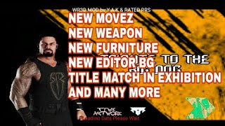 How To Download Wr3D Wwe 2K18 Mod By Hhh