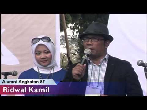 Ridwan Kamil @ Reuni Akbar SMP 2 Bandung