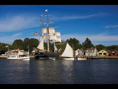 Mystic Seaport, Connecticut, USA - Unravel Travel TV
