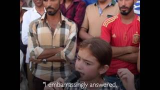 Open Mic Poetry in Mosul