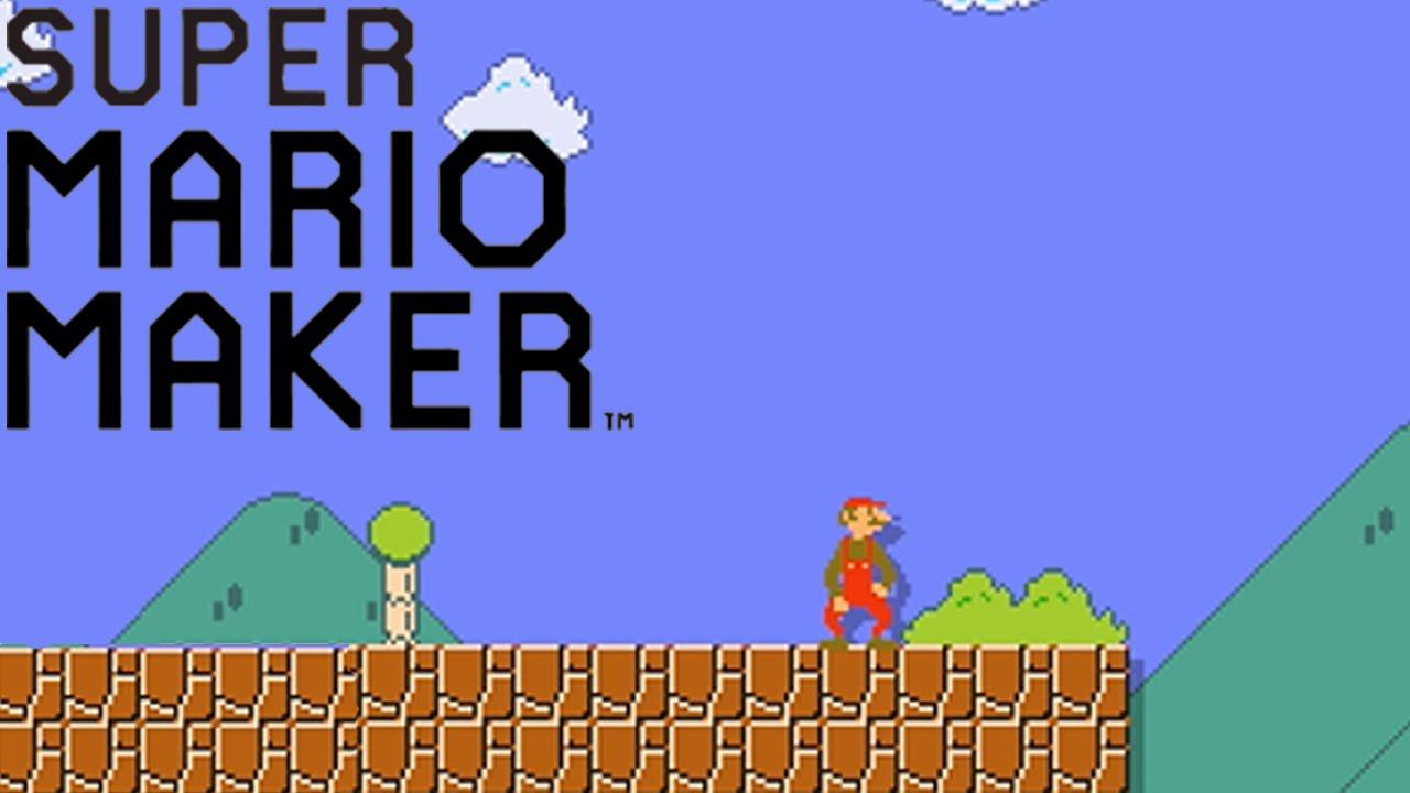 Super Mario Maker - Débloquer le Champignon de Luigi - YouTube