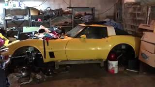 CORVETTE PILOT CAR FOUND!!! Bowling Green, KY Assembly Plant Pilot Car Discovered Hidden 34 Years