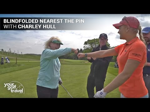 Blindfolded Golf Challenge with Charley Hull & Mark Crossfield