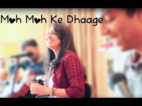 Moh Moh ke Dhaage Cover (Rearrangment) Ft. Jaya Vidyasagar, Akshay Naresh, Adithya Naresh