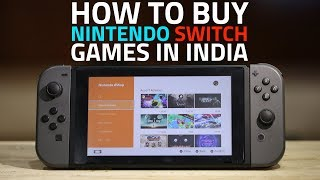 How to Buy Nintendo Switch Games in India