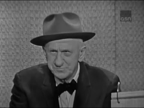 What's My Line? - Jimmy Durante; Dick Boone & Phyllis Newman [panel] (Apr 14, 1963)
