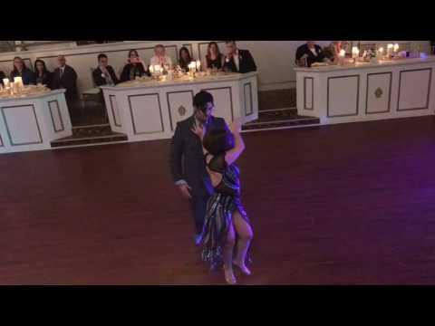 Amanda Accica y Daniel Moreno