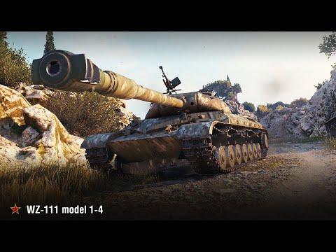 Исследую танк WZ-111 1-4 с нуля/ Исследование танка WZ-111 1-4 в WoTBlitz/Прокачка с нуля.