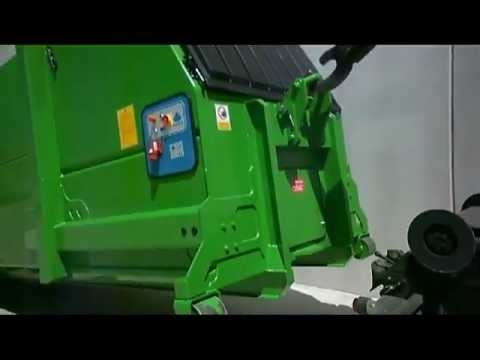 How Does A Trash Compactor Work waste compactor - youtube