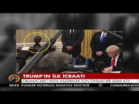 Donald Trump Kuran'ı Kerim dinledi