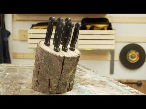 Eyes for the Job, Build Bit: Maple Knife Block, with Chris Judge