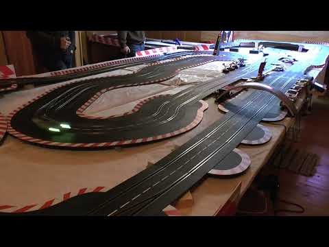 Carrera Digital Slot car racing Race 4 of the  2018 season