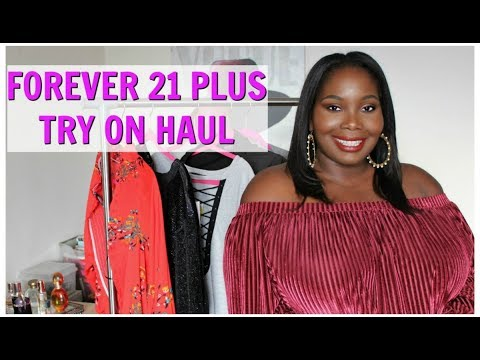 828bcc7dc5e Forever 21 Plus Size Try On Haul. Stylish Curves